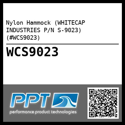 Nylon Hammock (WHITECAP INDUSTRIES P/N S-9023) (#WCS9023)