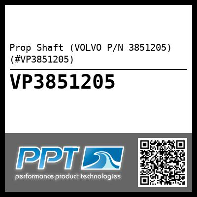 Prop Shaft (VOLVO P/N 3851205) (#VP3851205)