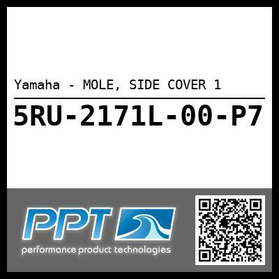 Yamaha - MOLE, SIDE COVER 1