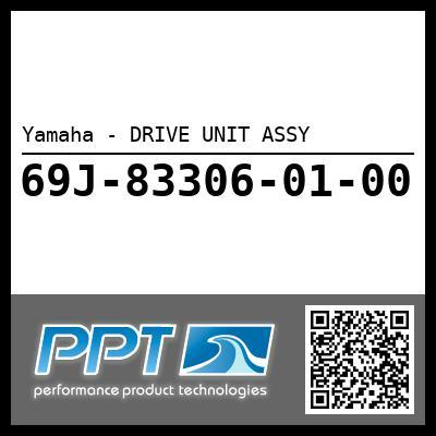 Yamaha - DRIVE UNIT ASSY