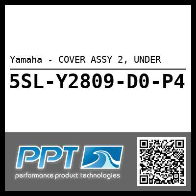 Yamaha - COVER ASSY 2, UNDER