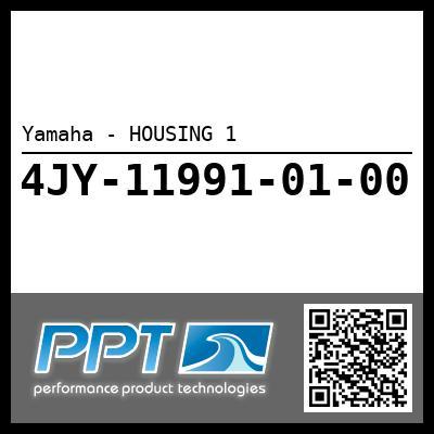 Yamaha - HOUSING 1