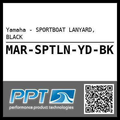 Yamaha - SPORTBOAT LANYARD, BLACK