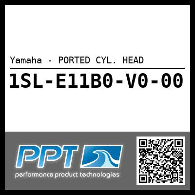 Yamaha - PORTED CYL. HEAD