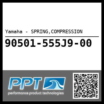 Yamaha - SPRING,COMPRESSION