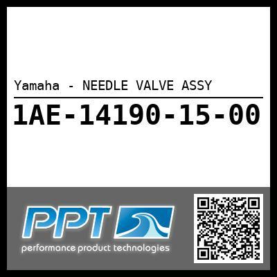 Yamaha - NEEDLE VALVE ASSY