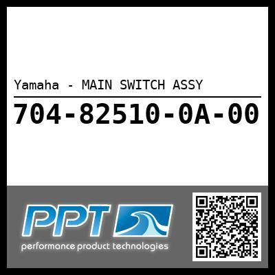 Yamaha - MAIN SWITCH ASSY