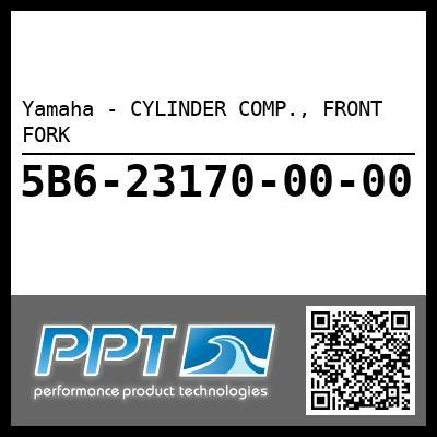 Yamaha - CYLINDER COMP., FRONT FORK