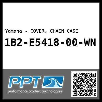 Yamaha - COVER, CHAIN CASE
