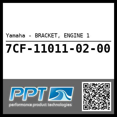 Yamaha - BRACKET, ENGINE 1