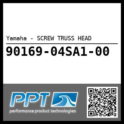 Yamaha - SCREW TRUSS HEAD