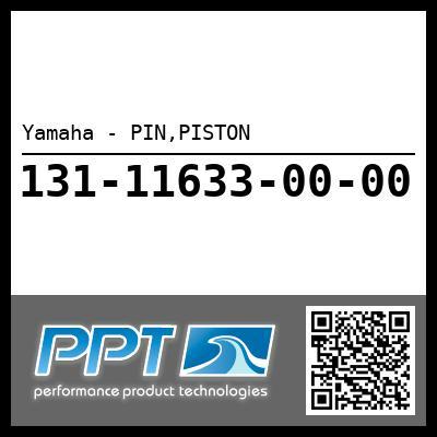 Yamaha - PIN,PISTON