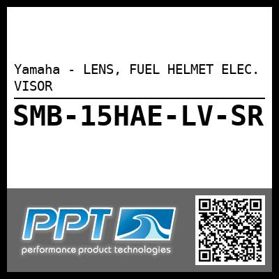 Yamaha - LENS, FUEL HELMET ELEC. VISOR