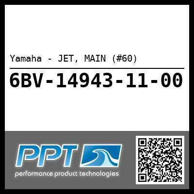 Yamaha - JET, MAIN (#60)