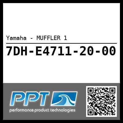 Yamaha - MUFFLER 1