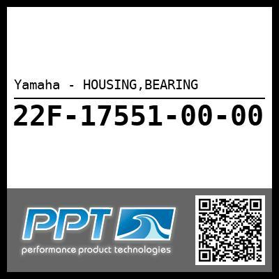 Yamaha - HOUSING,BEARING