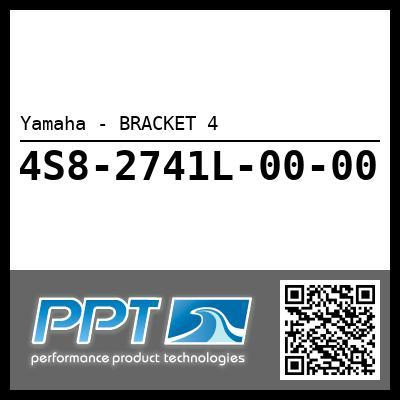 Yamaha - BRACKET 4