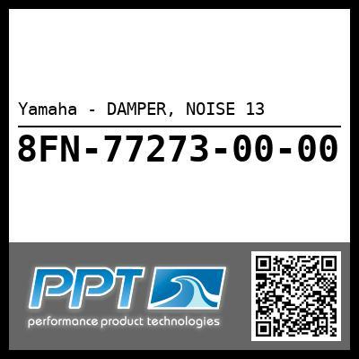Yamaha - DAMPER, NOISE 13