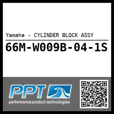 Yamaha - CYLINDER BLOCK ASSY