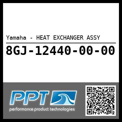 Yamaha - HEAT EXCHANGER ASSY