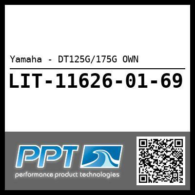 Yamaha - DT125G/175G OWN