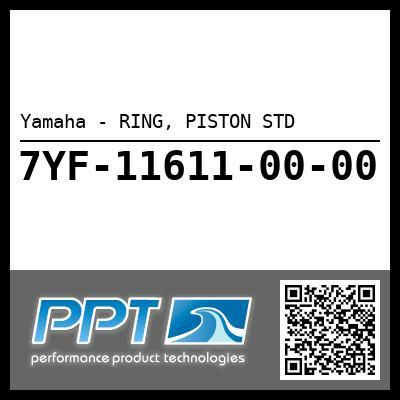 Yamaha - RING, PISTON STD