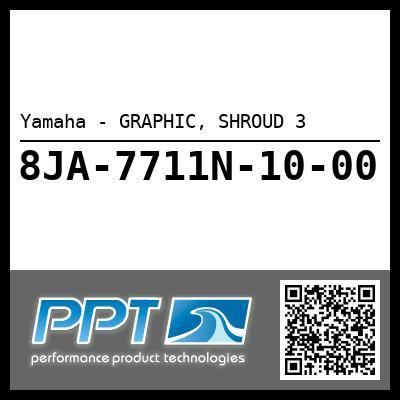 Yamaha - GRAPHIC, SHROUD 3