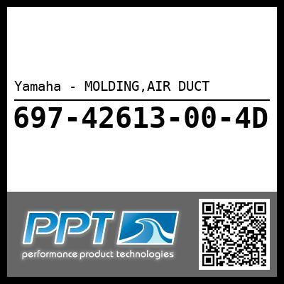 Yamaha - MOLDING,AIR DUCT