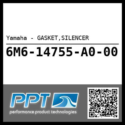 Yamaha - GASKET,SILENCER