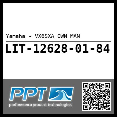 Yamaha - VX6SXA OWN MAN