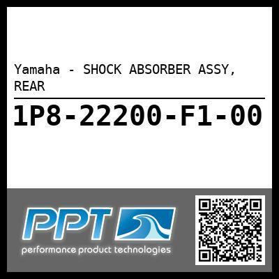 Yamaha - SHOCK ABSORBER ASSY, REAR