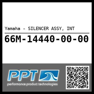 Yamaha - SILENCER ASSY, INT