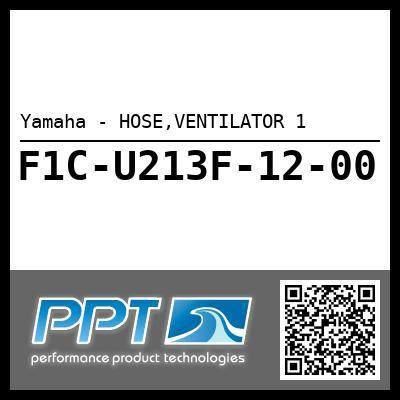 Yamaha - HOSE,VENTILATOR 1