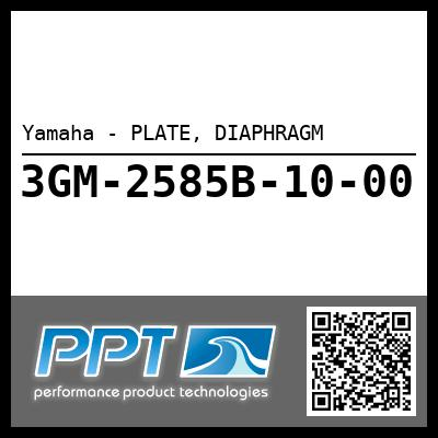 Yamaha - PLATE, DIAPHRAGM