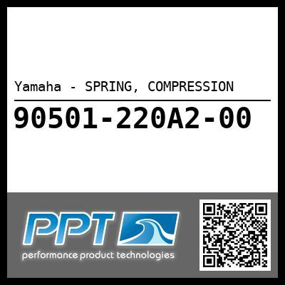 Yamaha - SPRING, COMPRESSION