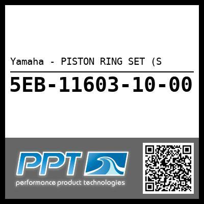 Yamaha - PISTON RING SET (S