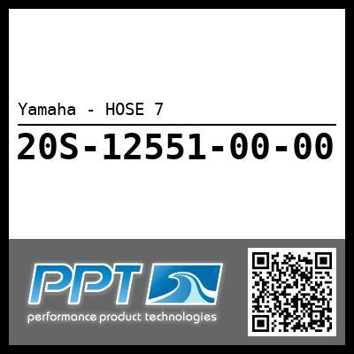 Yamaha - HOSE 7