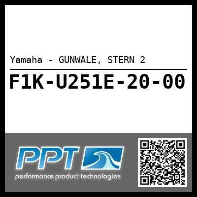 Yamaha - GUNWALE, STERN 2