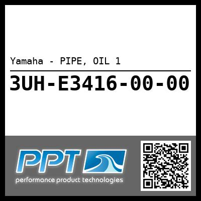 Yamaha - PIPE, OIL 1