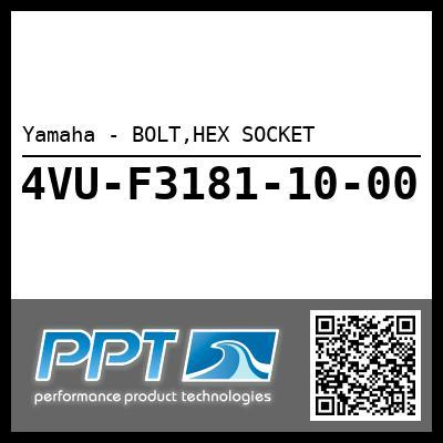 Yamaha - BOLT,HEX SOCKET