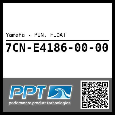 Yamaha - PIN, FLOAT