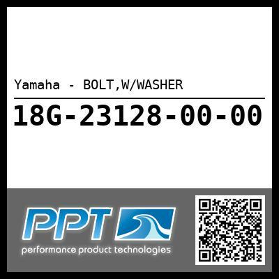 Yamaha - BOLT,W/WASHER