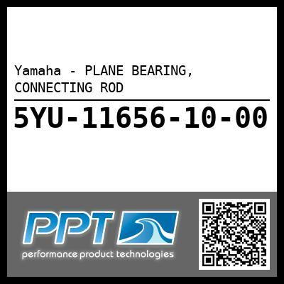 Yamaha - PLANE BEARING, CONNECTING ROD