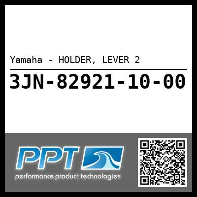 Yamaha - HOLDER, LEVER 2
