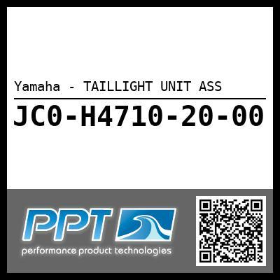 Yamaha - TAILLIGHT UNIT ASS
