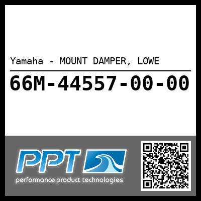 Yamaha - MOUNT DAMPER, LOWE