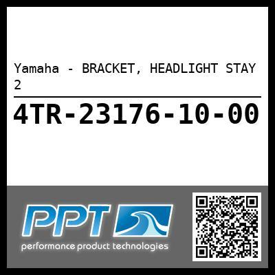 Yamaha - BRACKET, HEADLIGHT STAY 2