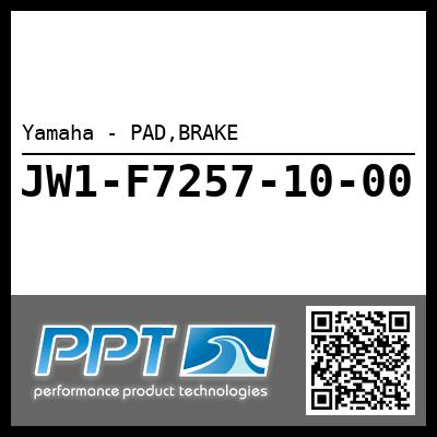Yamaha - PAD,BRAKE