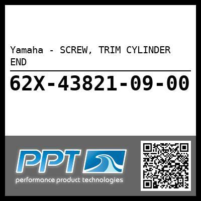 Yamaha - SCREW, TRIM CYLINDER END