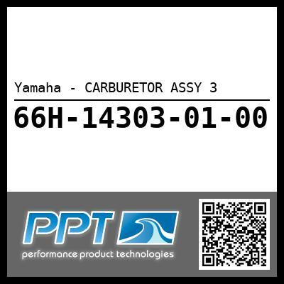 Yamaha - CARBURETOR ASSY 3